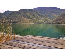 silencio de los lagos Imagen de archivo libre de regalías