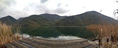 silencio del lago Foto de archivo libre de regalías