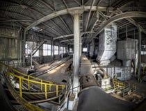 Silencio industrial Foto de archivo libre de regalías