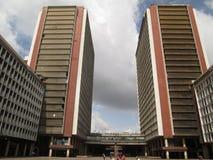 SILENCIO TOWERS SIMON BOLIVAR CENTER, CSB EL SILENCIO, CARACAS,VENEZUELA NICE. SILENCIO TOWERS SIMON BOLIVAR CENTER, CSB EL SILENCIO, CARACAS,VENEZUELA royalty free stock photos