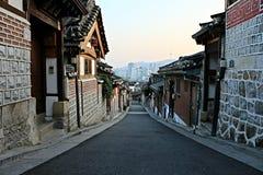 Silenciosamente vila Imagem de Stock