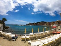 Relax in Sestri Levante royalty free stock photos