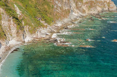 Silent Beach Promontory, Spain Stock Image