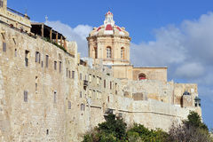 Silent city Mdina,Malta Royalty Free Stock Image