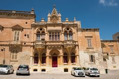 Silent city of Mdina, Malta Stock Photos