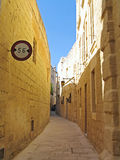 Silent City Mdina on Malta island Royalty Free Stock Image