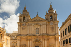 The Silent City of Mdina on Malta Royalty Free Stock Photo
