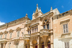 The Silent City of Mdina on Malta Royalty Free Stock Image