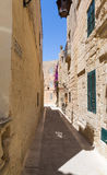The Silent City of Mdina on Malta Stock Image