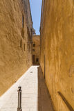 The Silent City of Mdina on Malta Stock Photo