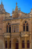 The medieval citadel of Mdina. Typical houses in the Silent City, government and administrative centre during the medieval period, Mdina, Malta Stock Photography