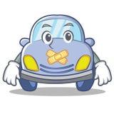Silent cute car character cartoon Stock Photo