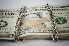 Silent dollar. Royalty Free Stock Images