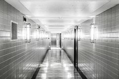 The Silent Hospital royalty free stock photo