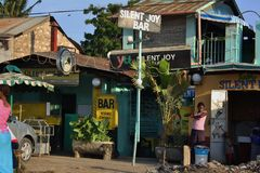 Silent Joy Bar. Mombasa. Stock Image