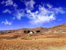 Silent landscape photographed at Golden Gate, South Africa