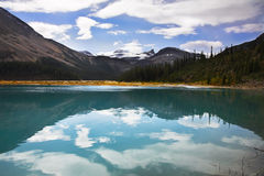 Silent mountain lake Royalty Free Stock Image