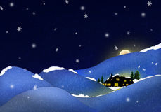 Silent night Stock Photography