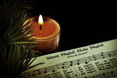 Silent Night Royalty Free Stock Photography