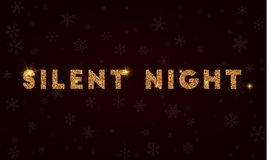 Silent Night. Stock Photo