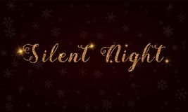 Silent Night. Royalty Free Stock Photo