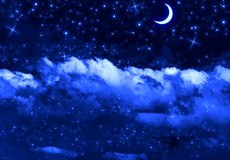 Silent Night Sky Royalty Free Stock Image