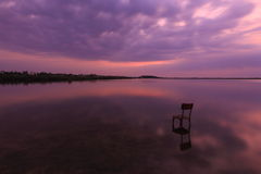 Silent Place. Baltic sea, Kaliningrad, Russia Royalty Free Stock Photography