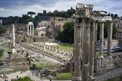 The silent ruins Royalty Free Stock Photo