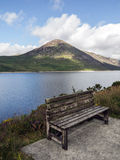 Silent valley bench Stock Photos