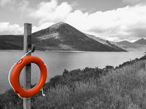 Silent valley bench Stock Images