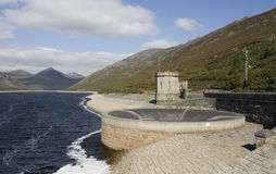 The Silent Valley reservoir in the Mountains of Mourne Stock Photo
