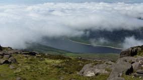 Silent vally reservoir ireland Royalty Free Stock Photo