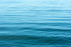 Silent waves in blue Royalty Free Stock Photo
