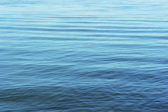 Silent waves in blue Stock Photography