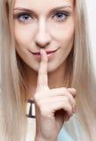 Silenzio Fotografia Stock