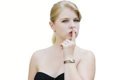 Silenzio 4 Fotografia Stock