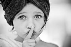 Silenzio fotografia stock libera da diritti