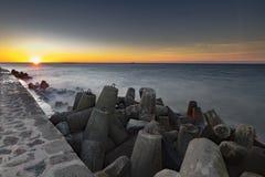 Silenzio al tramonto Immagini Stock Libere da Diritti
