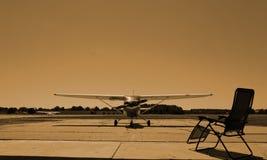 Silenzio all'aeroporto fotografie stock libere da diritti