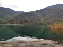 silenzio del lago Immagini Stock