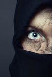 Silenzio del terrore Fotografia Stock