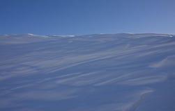 Silenzio della neve Fotografie Stock