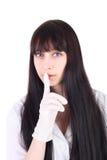 Silenzio di medico Fotografia Stock