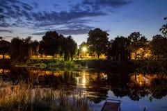Silenzio di sera Fotografia Stock