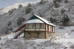 Silenzio e fiducia nelle montagne fotografie stock
