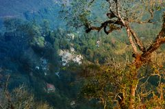 Silerygaon wioska, Sikkim Zdjęcia Stock