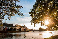 Silesia, capital city, old town Royalty Free Stock Photos