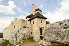 Silesia region - Bobolice Castle. Royalty Free Stock Photos