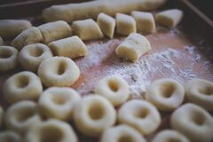 Silesian dumplings Stock Image