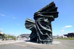 Silesian Insurgents Monument in Katowice Stock Photo